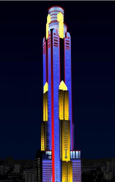baiyok-design-3-2-bangkok-thailand & Baiyoke Sky Tower   Brilliant Lighting Design azcodes.com