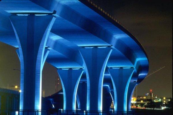 & Dodge Port Bridge   Brilliant Lighting Design azcodes.com