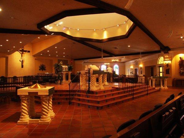 KONICA MINOLTA DIGITAL CAMERA & St. Martins Catholic Church | Brilliant Lighting Design