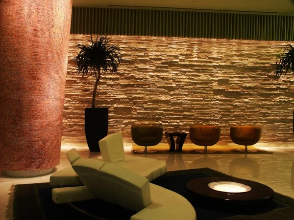 Vue Condo Lobby & Entrance | Brilliant Lighting Design